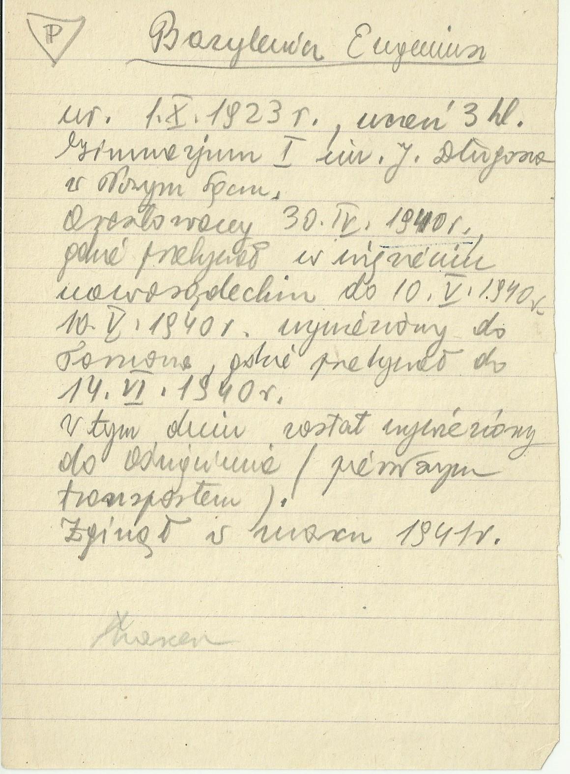Bazylewicz Eugeniusz